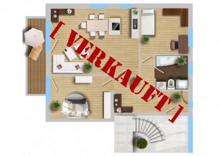 3-Zimmer-Wohnung mit Balkon – VERKAUFT